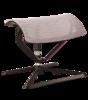 Podnóżek do fotela biurowego tapicerowany siatką MESH - kolor szary